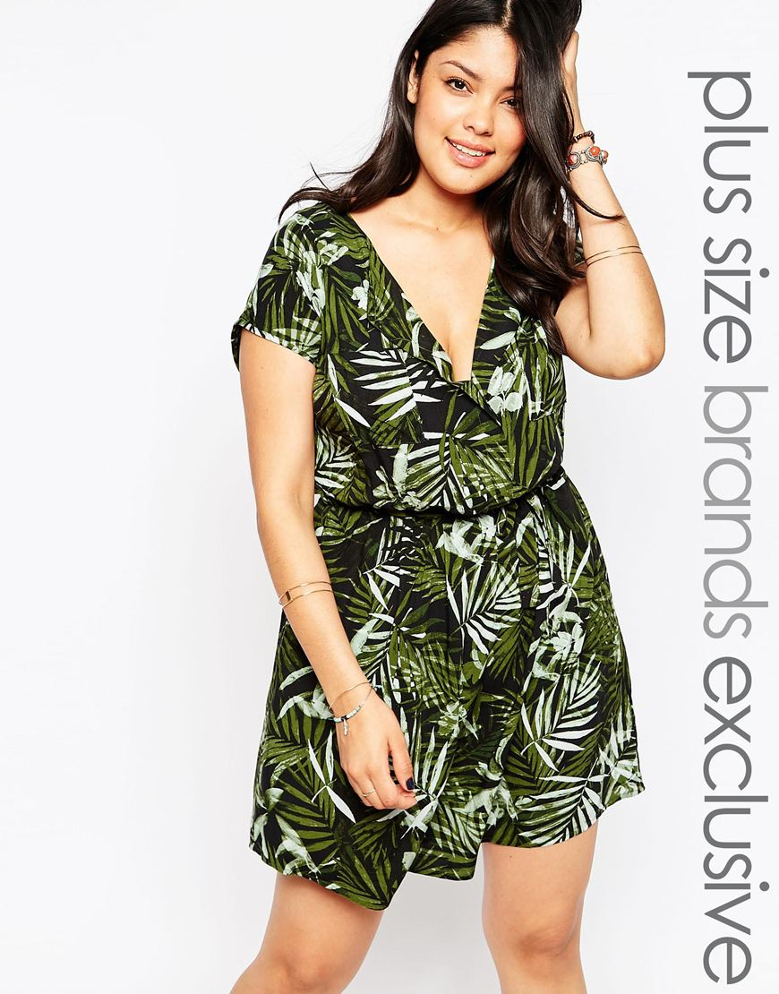 New Look Inspire Botanical Dress