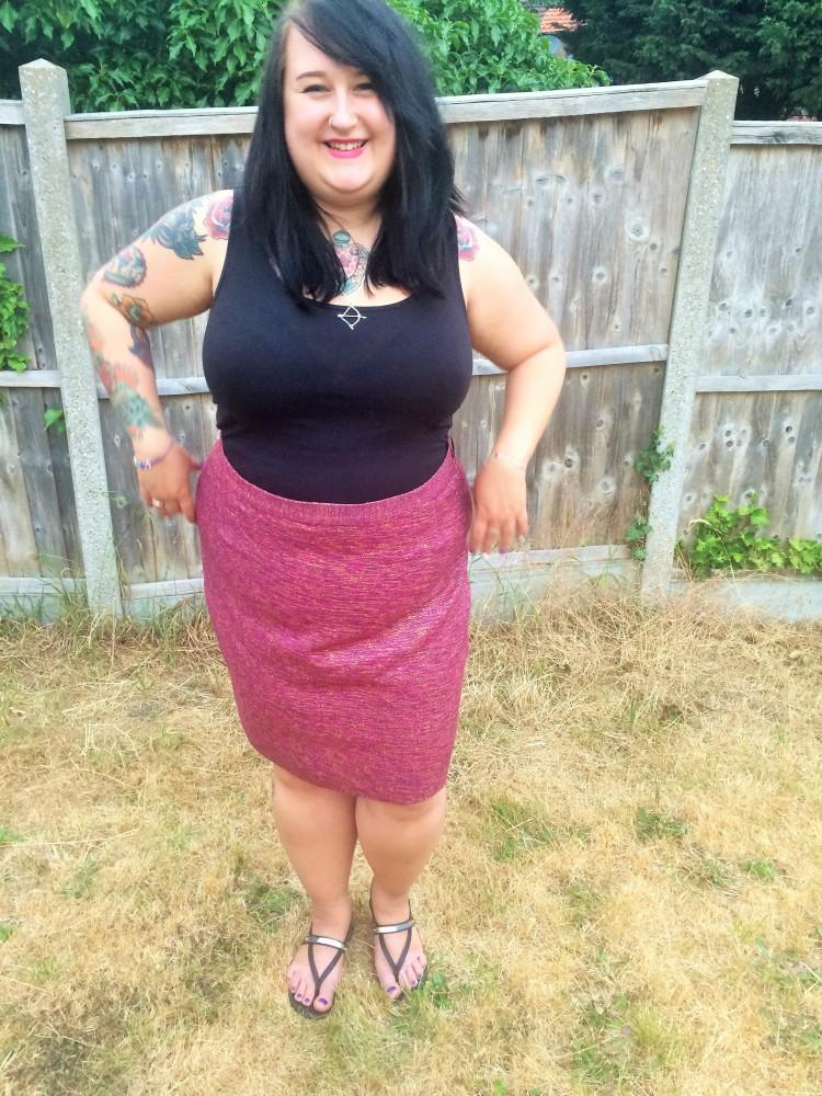 ElliottJane and Persse Pink Skirt Plus Size