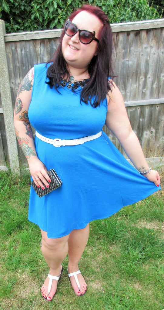 Blue skater dress lessthan10pounds.com