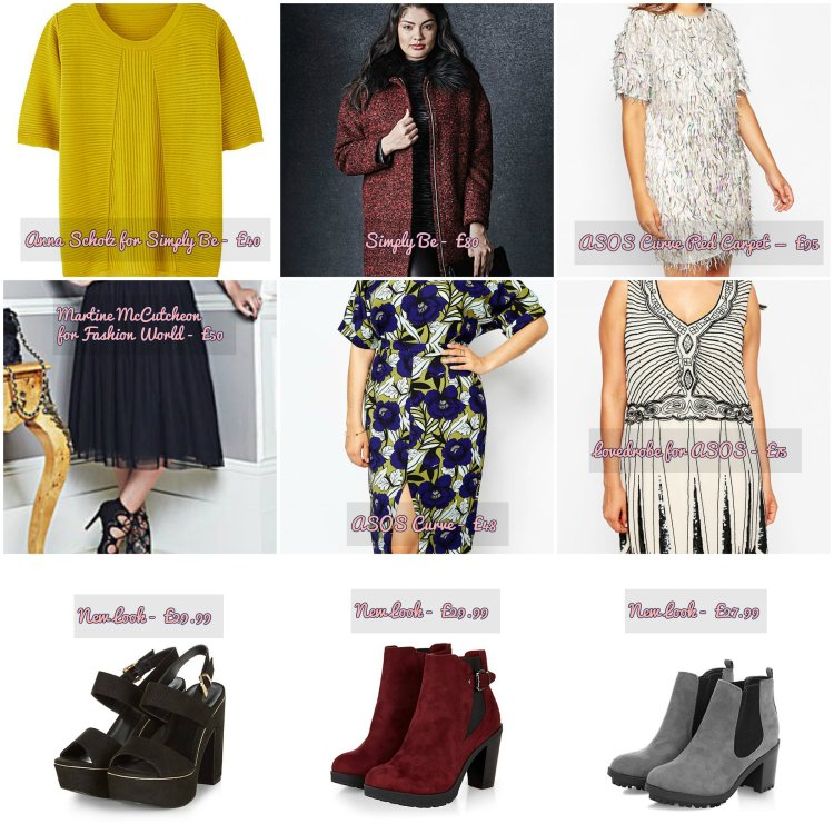 Plus size autumn fashion