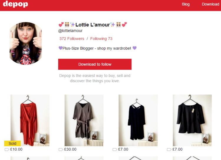 sale-shopping-lottie-lamour-plus-size-blogger-depop