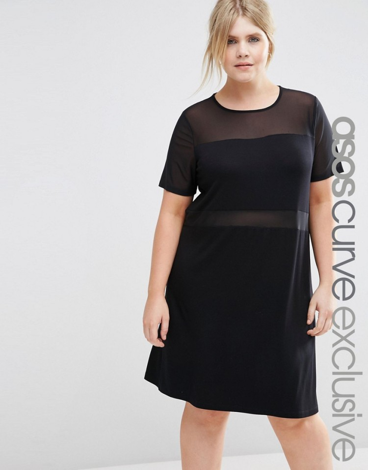 asos-curve-wishlist-black-mesh-dress-plus-size-fashion-lottie-lamour-uk-plus-size-fashion-blogger