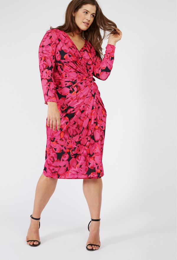 anna-scholz-tulip-jersey-twist-dress-plus-size-fashion-lottie-lamour