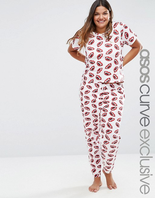 halloween-outfits-plus-size-women-pyjamas-plus-size-fashion-asos-curve-lottie-lamour