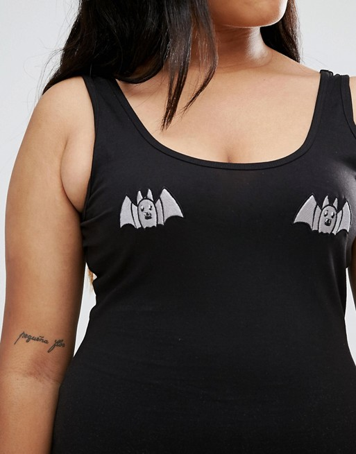 plus-size-body-halloween-bat-print-plus-size-fashion-asos-curve-lottie-lamour