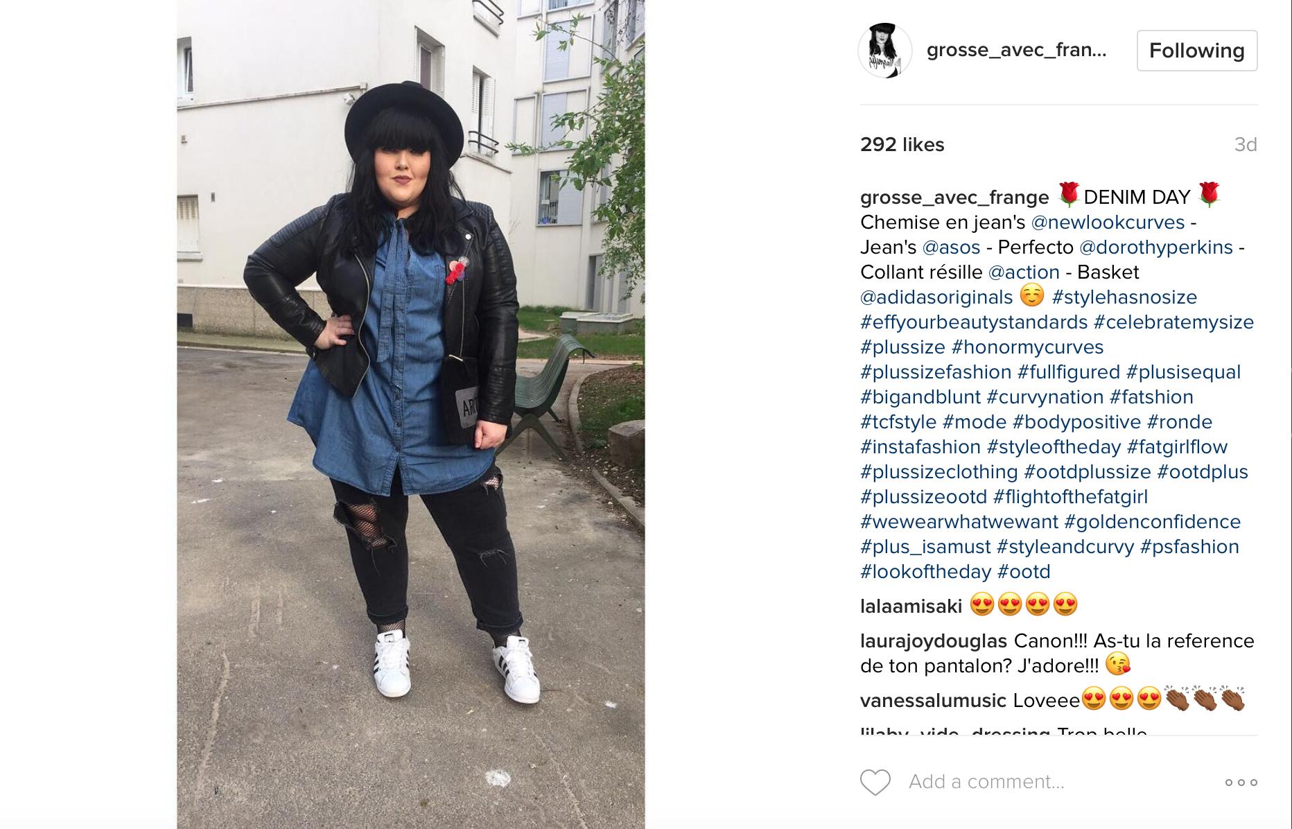 grosse-avec-frange-instagram